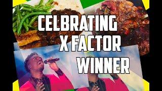 Celebrating X factor winner Dalton Harris (Cooking Some  Chicken and Rice ) 2018 Dalton Harris