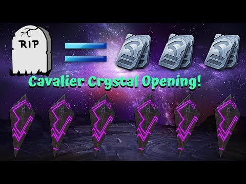Cavalier Crystal Opening! RIP MY UNITS! - Marvel Contest of Champions