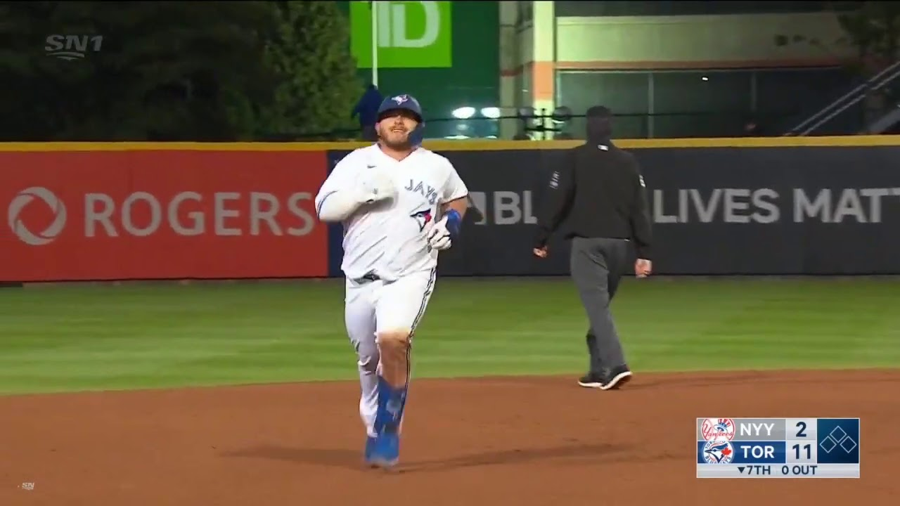 Alejandro Kirk's First Career Major League Home Run! (2020)