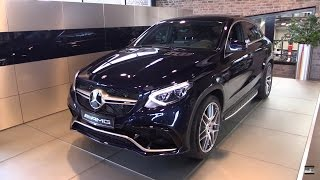 Mercedes-Benz GLE 63 S AMG Coupe Review -  Start Up, Exhaust, In Depth Review Interior Exterior