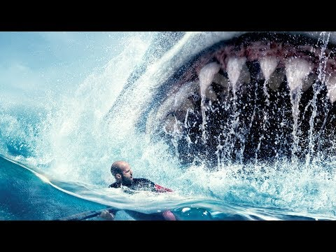 The Meg ALL TRAILERS - Jason Statham 2018 Movie