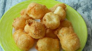 Как приготовить сырные шарики с чесноком во фритюре