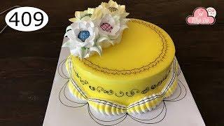 chocolate cake decorating bettercreme vanilla (409) Học Làm Bánh Kem Đơn Giản Đẹp - Vàng Mứt (409)