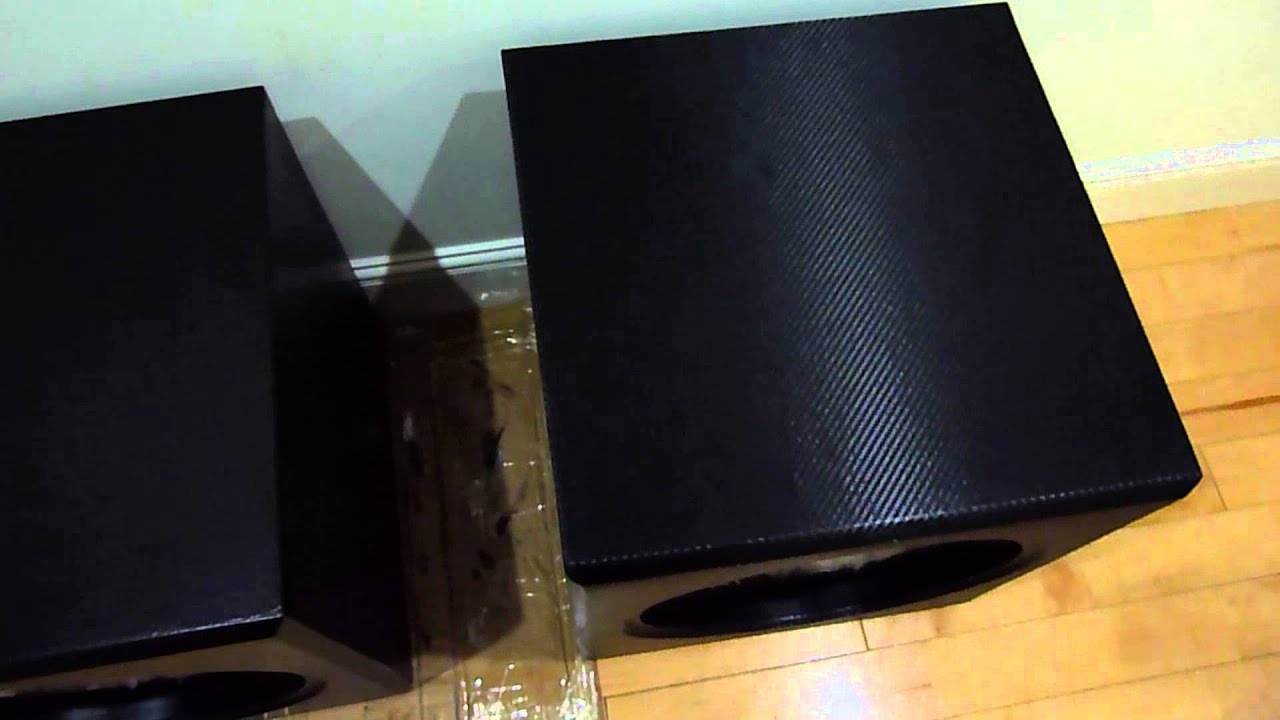 3D Vinyl Wrap of my sub woofer box home cinema sub build