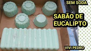 FAÇA 1 kg de SABÃO DE EUCALIPTO SEM SODA