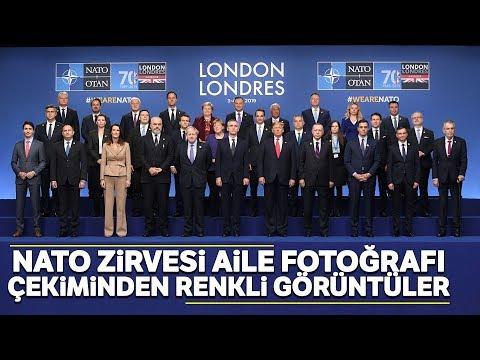 Cumhurbaşkanı Erdoğan, NATO Liderler Zirvesi'de Aile Fotoğrafına Katıldı