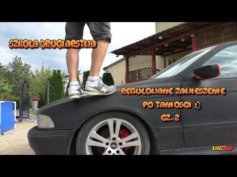 Szkoła Druciarstwa Regulowane Zawieszenie po Taniości BMW E39 część2 Wazzup :)