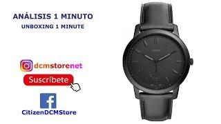 FS5447 Fossil Revisión 1 Minuto Unboxing 1 Minute