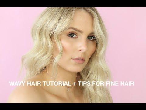 MY SIGNATURE WAVY HAIR TUTORIAL + BEST TIPS FOR THIN, FINE HAIR   RACHAEL BROOK