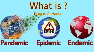 What is Pandemic Epidemic and Endemic ? Covid 19 a pandemic or epidemic? spanish flu