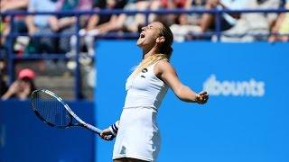 2016 Aegon International Semifinals | Dominika Cibulkova vs Monica Puig | WTA Highlights