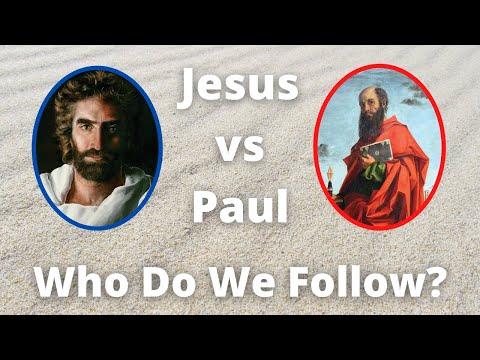 Jesus vs Paul - Who Do We Follow?!