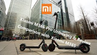 2.0 Version Xiaomi M365 Pro Unboxing & Review & Comparison Xiaomi M365 UK First Professional Review