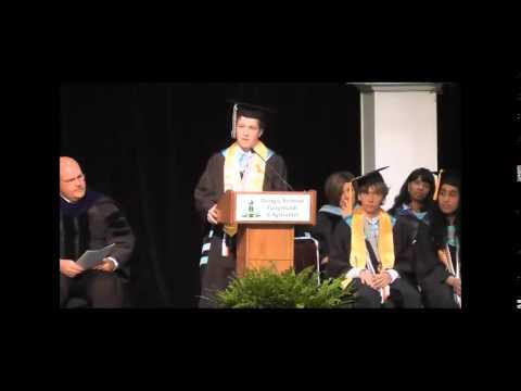 Houston County High School Valedictorian & Salutatorian Speeches 2015