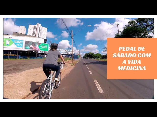 Ir no Mercado de Bike com A Vida Medicina