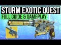 DESTINY 2 How To Get STURM Exotic Hand Cannon Full Exotic Quest Guide mp3