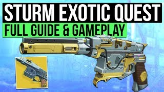 DESTINY 2 | How to Get 'STURM' Exotic Hand Cannon: Full Exotic Quest Guide!