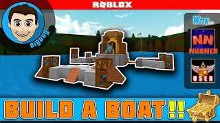 ROBLOX BUILD A BOAT FOR TREASURE mit NubNeb und MyUsernamesDiese !!