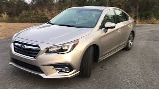 2018 Subaru Legacy Limited 2.5 4-Cyl (Full Review)