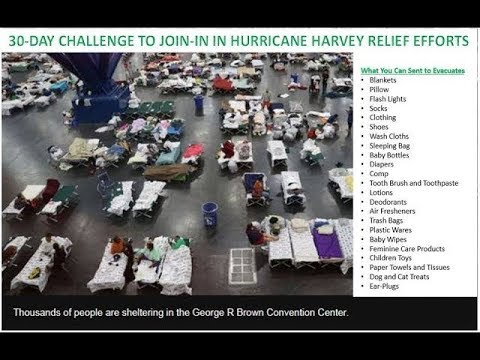 Day 6 - 30 Days Challenge to Join-in In Hurricane Harvey Relief Efforts