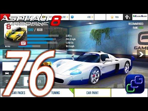 Asphalt 8 Airborne Walkthrough   Part 76   Season 5 6 Maserati MC12 Dubai