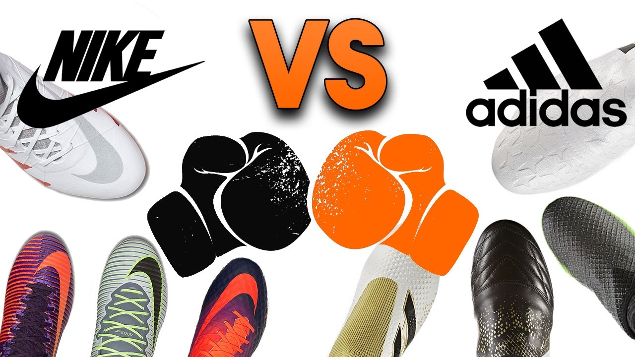 a492d6e1f adidas vs Nike - Who Has the Best Football Boots  - YouTube