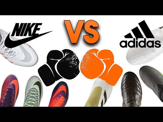 adidas vs Nike - Who Has the Best Football Boots?