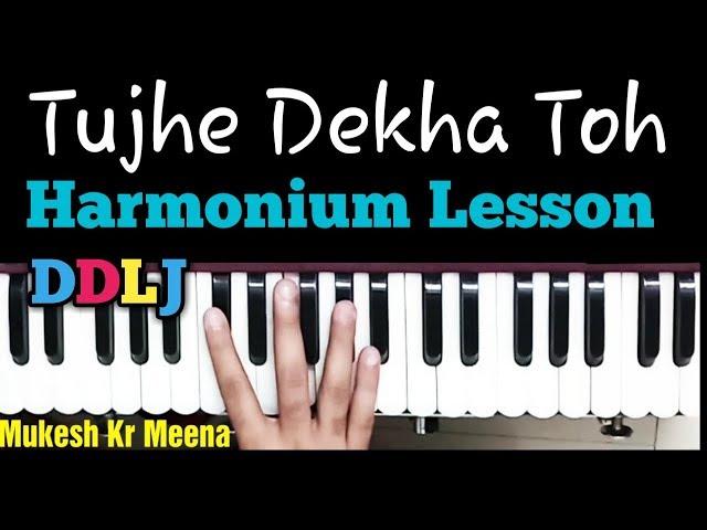 Tujhe Dekha To Ye Jana Sanam | Harmonium | Dilwale Dulhnia Le Jayenge | Shahrukh Khan | Kajol