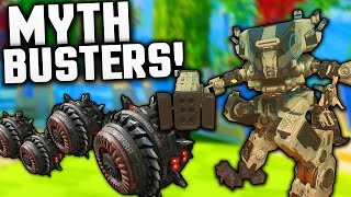 Black Ops 3 MYTHBUSTERS BATTLE MECHS vs EVERYTHING Call of Duty