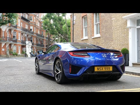 Honda NSX: Electric Power Only Challenge