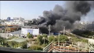 MERSİN HABER - Mersin  Tarsus Organize Sanayi Bölgesinde Yangın! Çakmak Fabrikasını Alevler Sardı