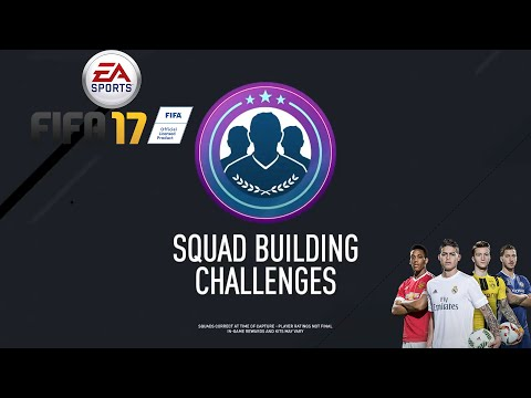 EZ MARHAJÓ - FIFA 17 ULTIMATE TEAM SQUAD BUILDING CHALLENGES