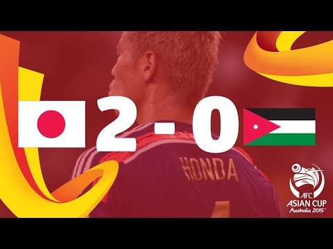 Japan vs Jordan: AFC Asian Cup Australia 2015 (Match 23)