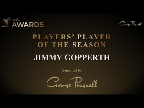 Jimmy Gopperth - Players' Player of the Season 2016/17