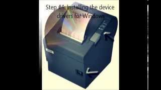How To Connect An Epson Pos Printer With A Usb Interface