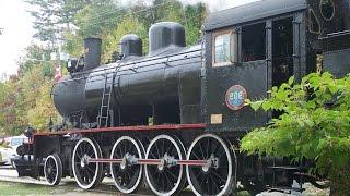 Train à vapeur Wakefield, Québec - Septembre 2009