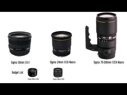 The Best DSLR Filmmaking Lenses - Cinematography Tips