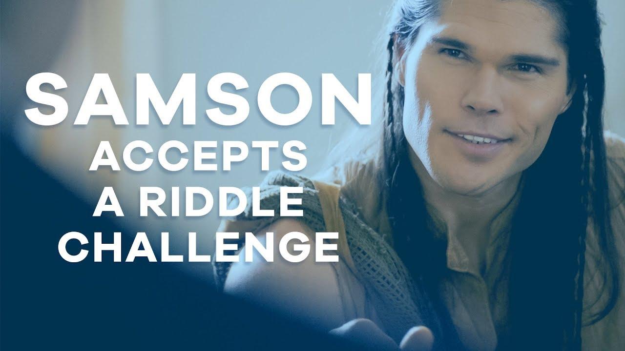 SAMSON Off set - Challenge #4: Samson Accepts a Riddle Challenge