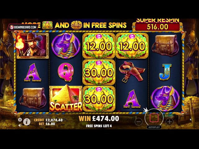 JOHN HUNTER AND THE TOMB OF THE SCARAB QUEEN (PRAGMATIC PLAY) ONLINE SLOT