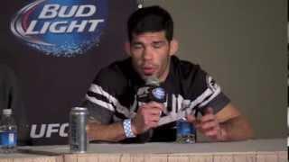 Raphael Assuncao Talks Win at UFC 170 Post Fight Press Conference
