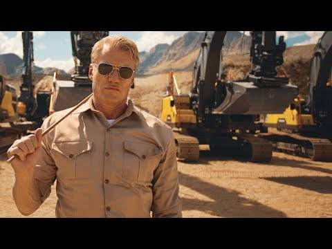 Volvo Excavators – Pump It Up feat. Dolph Lundgren