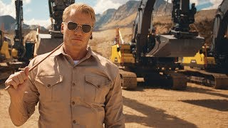 "Volvo Excavators – ""Pump It Up"" Feat. Dolph Lundgren"
