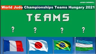 Чемпионат мира 2021 по дзюдо прогноз смешанных команд