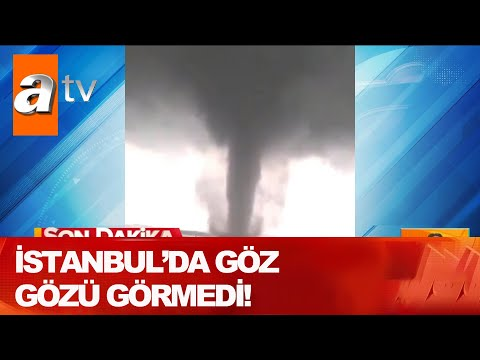 İstanbul'da göz gözü görmedi! - Atv Haber 23 Haziran 2020