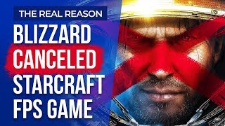 The Real Reason Blizzard Canceled The StarCraft FPS