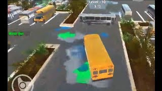Bus Master Parking 3D Game Level 1-10 Walkthrough | Bus Parking Games