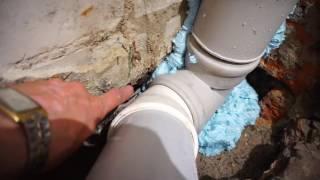 Замена чугунной канализации на пластиковую(Как заменить чугунный стояк на пластиковый ? Бесшумная пластиковая канализация OSTENDORF Skolan db. Может не сильно..., 2016-05-20T05:28:45.000Z)