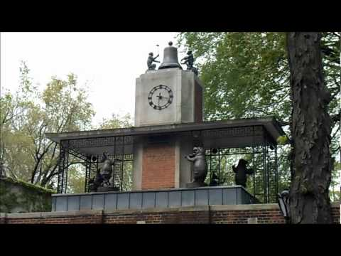 George Delacorte Musical Clock in the Central Park Zoo in New York City