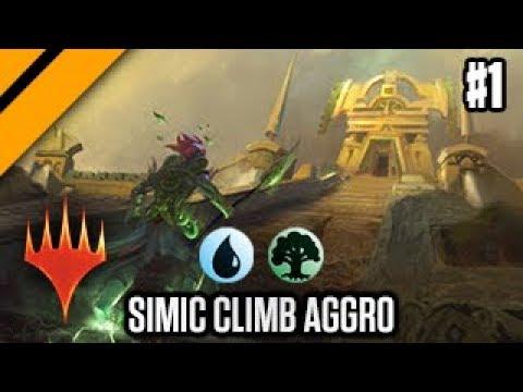 Ravnica Allegiance Streamer Prerelease - Simic Hadana's Climb Aggro P1 (sponsored)   MTG Arena
