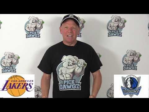 Los Angeles Lakers vs Dallas Mavericks 1/10/20 Free NBA Pick and Prediction NBA Betting Tips